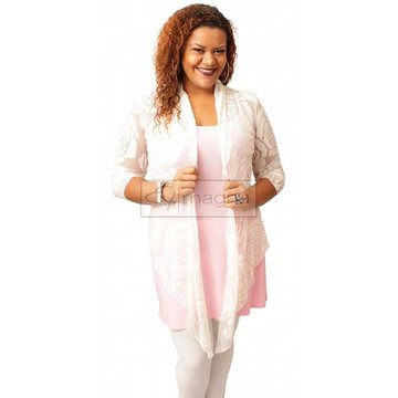 A-36 BIG ROSE BOLERO – WIT
