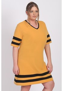 Tuniek C-9008 CRB solid M-Yellow-076